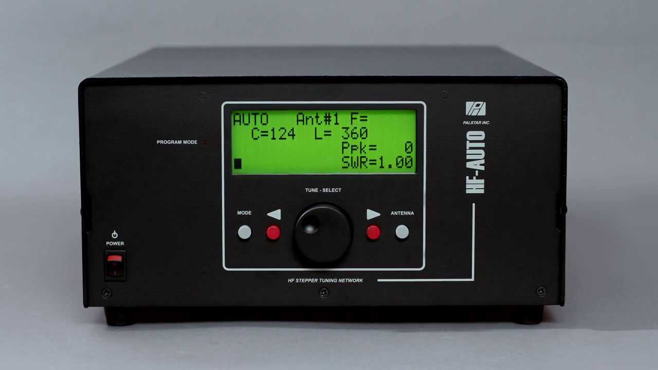 How to Setup Your 1800 Watt HF-AUTO Autotuner from Palstar, Inc