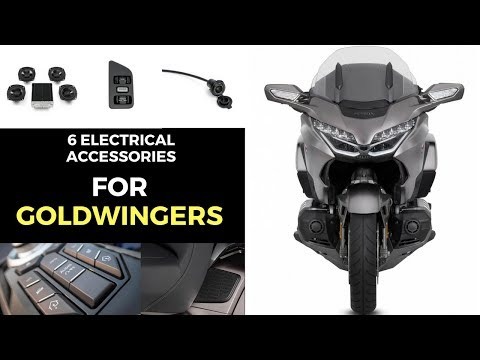 2018 HONDA GOLDWING ELECTRICAL ACCESSORIES