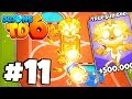 *SECRET TRICK* WORLD RECORD TRUE SUN GOD! - Round 100+ Late Game! - Bloons TD 6 Part 11