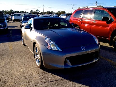 2010 Nissan 370Z Touring Coupe Review, Walkaround, Exhaust