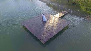 Невероятно красивая свадебная Аэросъёмка.  Включаем музыку погромче и наслаждаемся. )