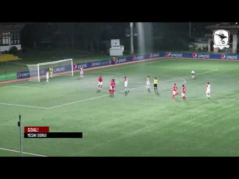Hightlights: Thimphu City FC vs Transport United FC