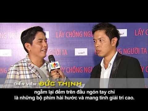 BHD | Lấy Chồng Người Ta | clip phỏng vấn celeb về bộ phim | 21/09/2012