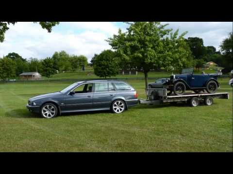 Bmw 5 Series Touring Towing Capacity Youtube