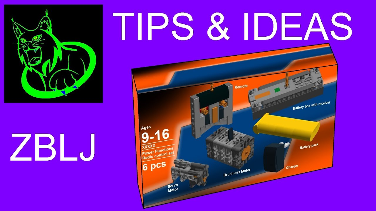 Tips Amp Ideas Rejected Lego Power Functions V2 0 Set Idea