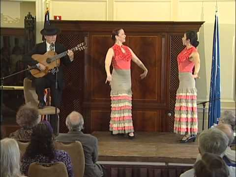 Torcuato Zamora: Flamenco Guitar with Dancers from Furia Flamenco