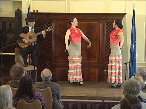 Torcuato Zamora: Flamenco Guitar with Dancers from Furia Flamenco