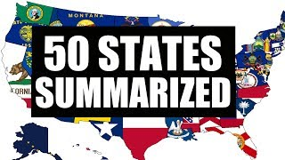 Americans Summarize States In One Sentence