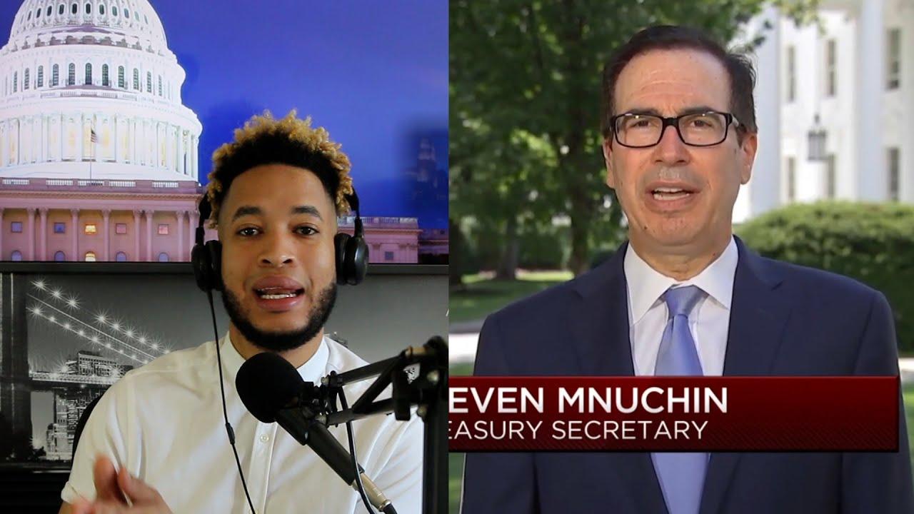 Actualización de Estímulo | El Secretario del Tesoro Steve Mnuchin habla sobre Estímulo y Desempleo