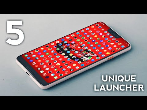 TOP 5 UNIQUE ANDROID LAUNCHERS 2018 || 5 Best Android LAUNCHER Apps For 2018 (HINDI)