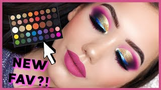 FULL GLAM! JAMES CHARLES X MORPHE ARTISTRY PALETTE TUTORIAL | MAKEMEUPMISSA