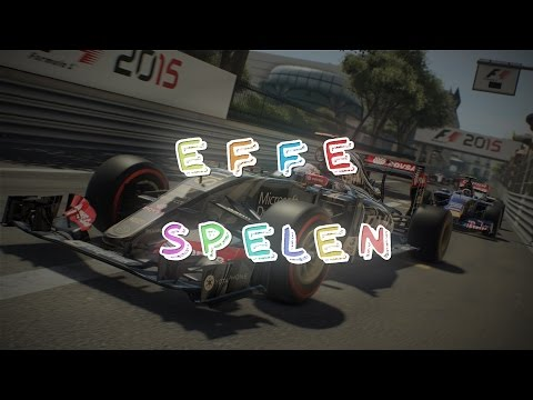 Kamikaze coureur! F1 2015 - Effe Spelen