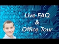 LIVE FAQ and BAA Electronics Office Tour!