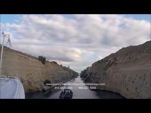 Corinth Canal Passage by Cruise Holidays | Luxury Travel Boutique