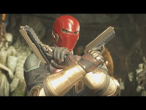 Injustice 2 - Red Hood All Intro/Interaction Dialogues