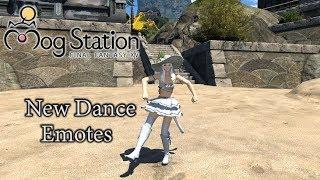 FFXIV New Dance Emotes Mogstation Update