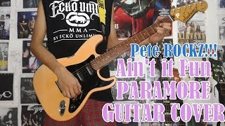 Ain't It Fun - Paramore(Guitar Cover)with Chords And Tab