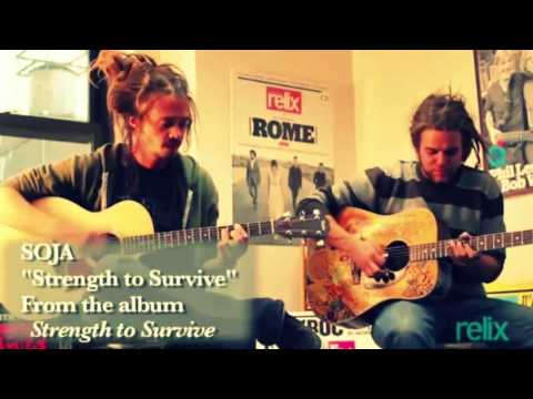 SOJA   Jacob Hemphill  Trevor Young   'Strength to Survive Acoustic'   Live at Relix