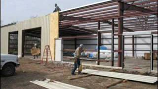 Steel Building Erection Sequence