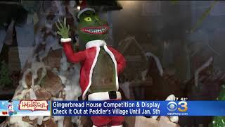 2018 Gingerbread Competition & Display in Peddler's Village | CBS Philly