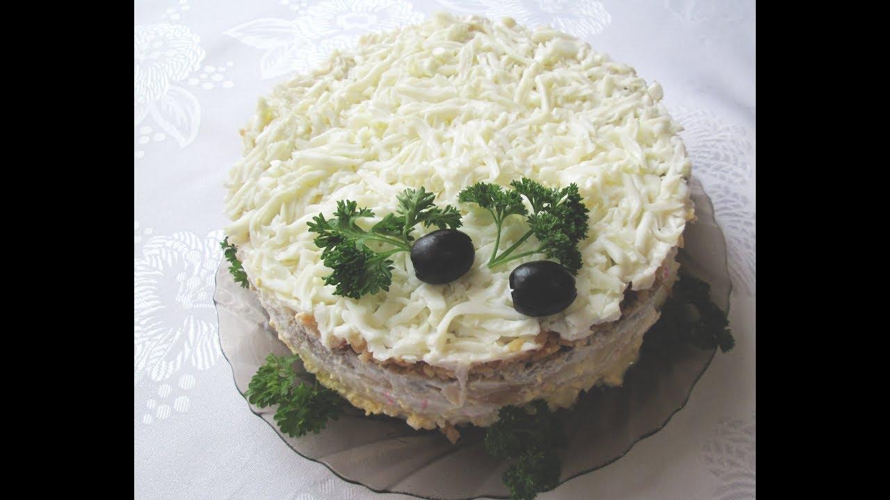 все салат снежная королева рецепт с фото из-за нехватки денег