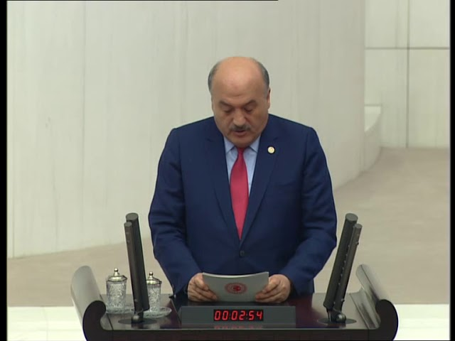 Erzincan Milletvekili Süleyman Karaman TBMM'de 13 Şubat konuşması