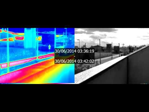 video demo THERMAL vs B&W 3