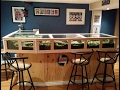 N scale train in a bar!!!!