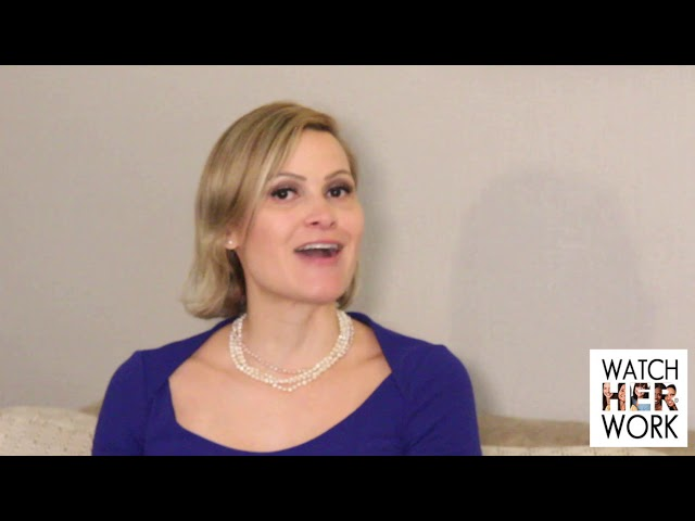 Travel: Creating Time to Work During Vacation, Claudia Rojas | WatchHerWorkTV