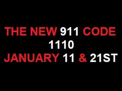 THE NEW CODE: 1110 - JANUARY 11TH FALSE FLAG 911 SEQUEL... JANUARY 21ST MOUNT ETNA & KILAUEA TSUNAMI
