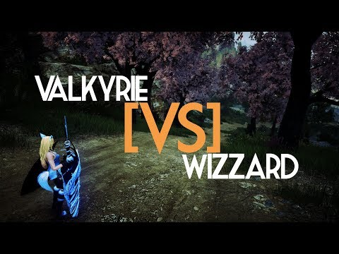 BDO PVP Arena Awaken Valkyrie VS Awaken Wizzard