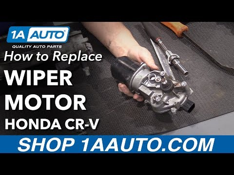 How to Replace Wiper Motor 07-11 Honda CR-V