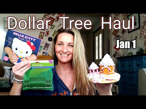 EXTRA LARGE Dollar Tree Haul | All New Items| What I Got For X-Mas/ Jan 1st 2020