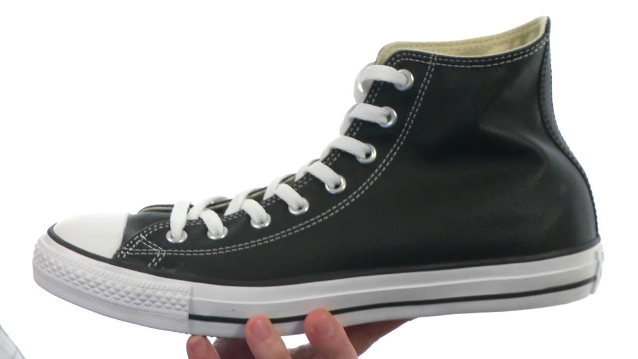 Conmemorativo Movimiento Velocidad supersónica  Converse Chuck Taylor® All Star® Leather Hi SKU:7188222 - YouTube