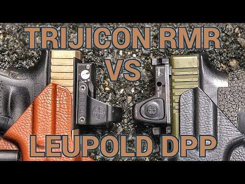 Red dot showdown: Leupold Delta Point Pro vs Trijicon RMR