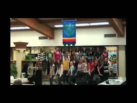Grayslake Middle School's winter musical.mov