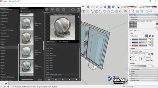 Glass Transparency | V-Ray material | SketchUp<