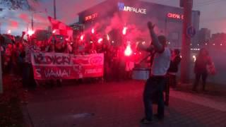 PYROMANIA!!! by Sektor 106 1/2 - fans HC Slavia Praha na výjezdu v Pardubicích (27.10.2013)