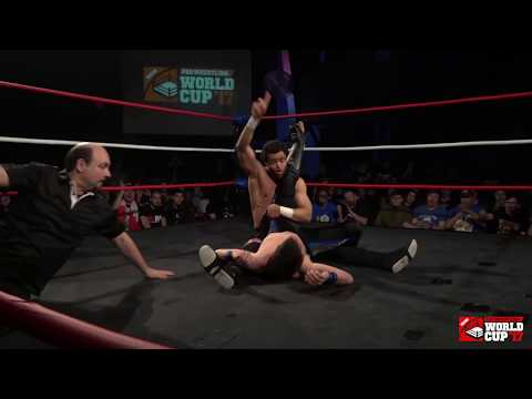Mike Bailey vs Brent Banks Pro Wrestling World Cup Canada  1st Round