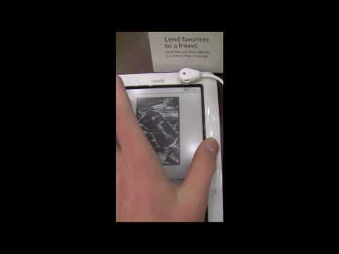 Barnes & Noble Nook Hands On