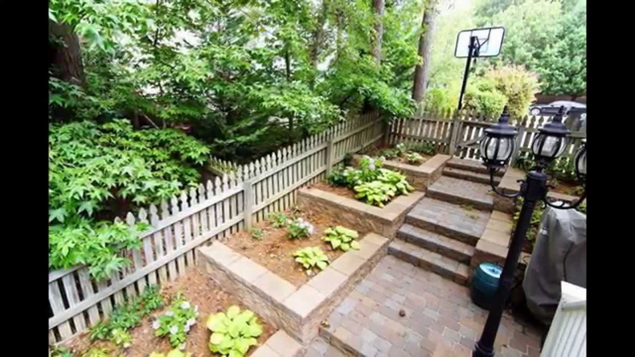 walkout basement landscaping