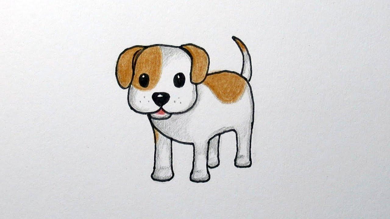 een hond tekenen cdl73 agbc