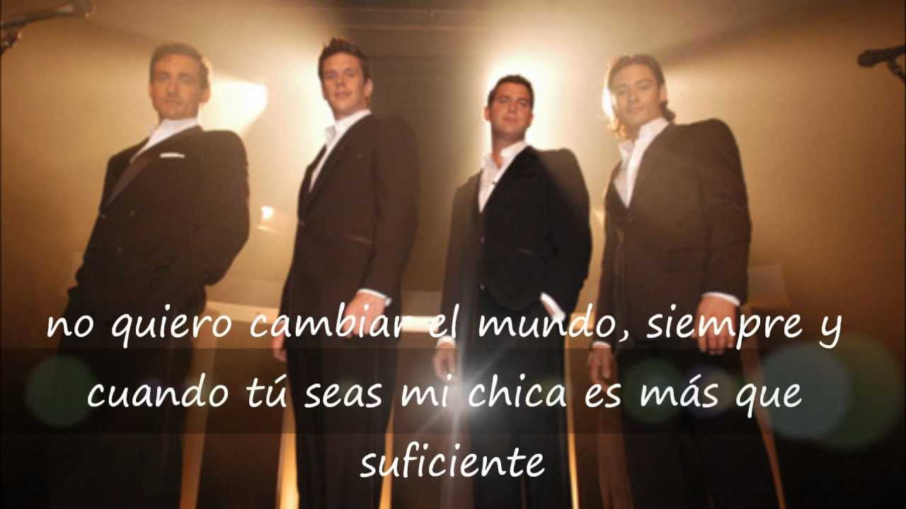 The man you love il divo subtitulada espa ol youtube - Il divo man you love ...