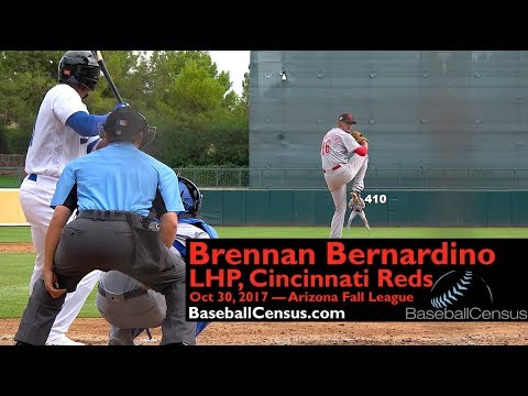 Brennan Bernardino, LHP, Cincinnati Reds — October 30, 2017 (AFL)