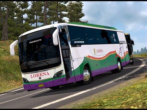 ETS 2 | Rahayu Santosa Euroliner Scania Lorena Rute Lambaro - Lhokseumawe