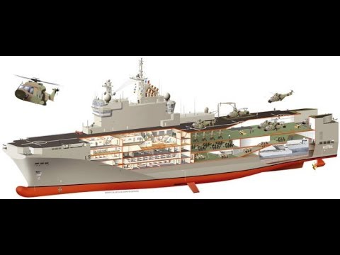Russia to build first helicopter carrier by 2022