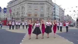 The Tootsie Rollers   Walk the Walk Launch   Oxford Circus