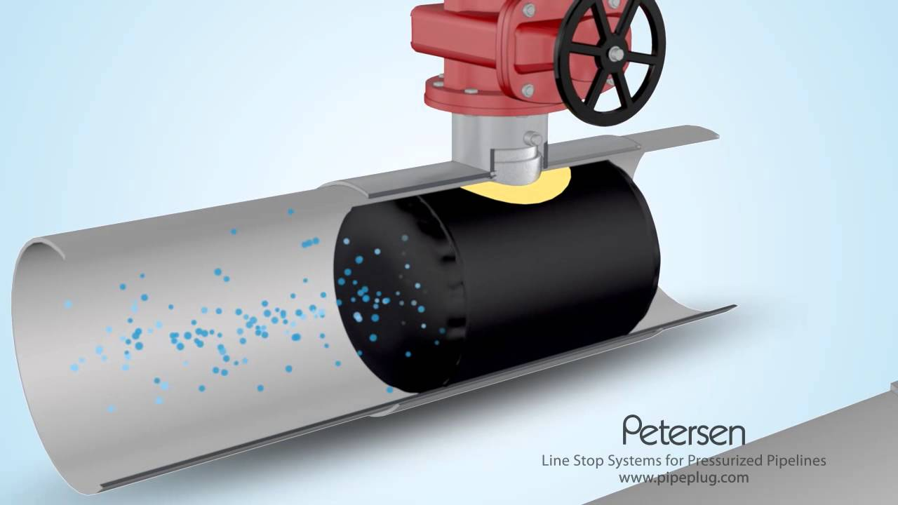 Hot Tap Plugging System for pressurized pipelines