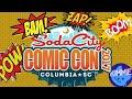 Soda City Comic Con Vlog 2017 Columbia SC