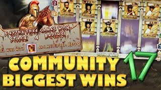 CasinoGrounds Community Biggest Wins #17 / 2018